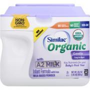 Similac Organic A2 Powder Infant Formula with Iron