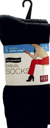 No nonsense Casual Assorted Socks Sizes 4 - 10