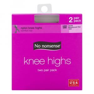 No nonsense Nude Knee Highs