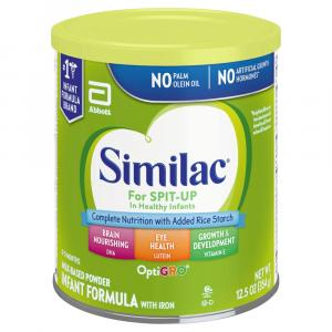 Similac for Spit Up w/Iron Powder Baby Formula