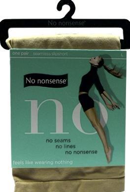 No nonsense Seamless Nude Slipshort Large