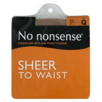 No nonsense Sheer To Waist Queen-1 Nude Pantyhose