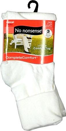 No nonsense Cotton Cuff Socks White
