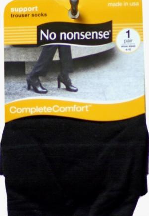 No nonsense Opaque Black Trouser Socks