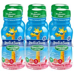 PediaSure w/Fiber Strawberry Shakes