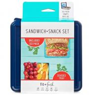 Fit & Fresh Sandwich + Snack Set