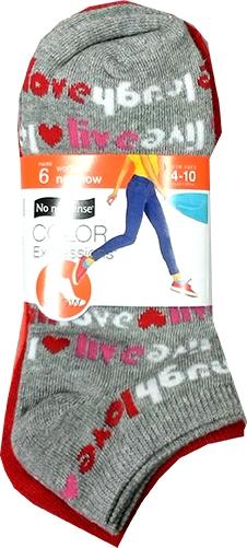 No nonsense Women's No Show Uncushioned Socks