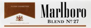 Marlboro Blend 27 Regular King Cigarettes