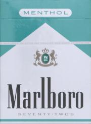 Marlboro 72's Menthol Cigarettes