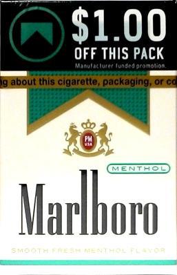 Marlboro Menthol Light Box Cigarettes