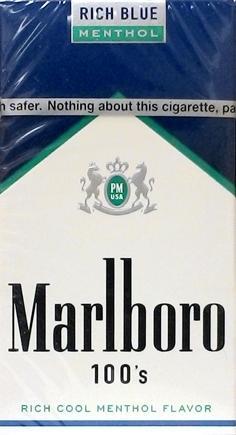 Marlboro Menthol Rich Blue 100