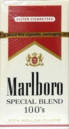 Marlboro Special Select 100's Box Cigarettes