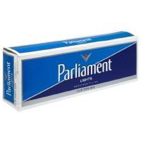 Parliament White King Box Cigarettes