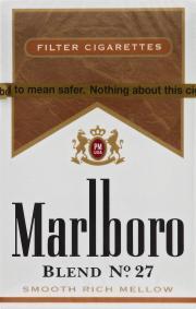 Marlboro Blend 27 King Cigarettes