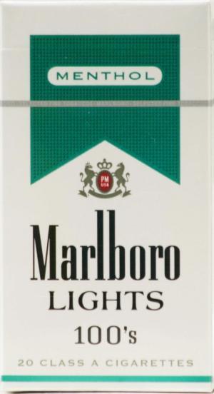 Marlboro Gold Menthol 100's Box Cigarettes