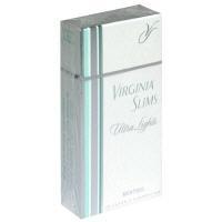 Virginia Slims Silver Menthol 100's Box Cigarettes