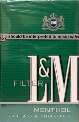 L&M Menthol King Box Cigarettes