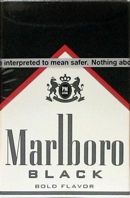 Marlboro Special Blend Black Package Cigarettes