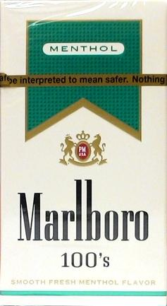 Marlboro Gold 100's Box Cigarettes