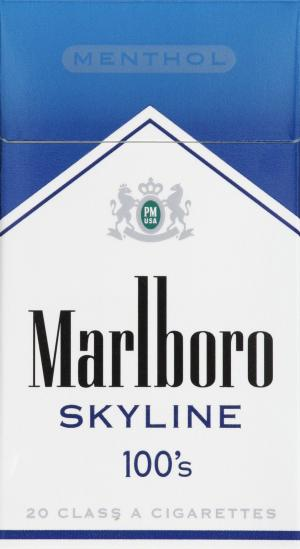 Marlboro Skyline 100's Box Cigarettes