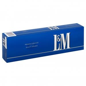 L&M King Blue Box Cigarettes