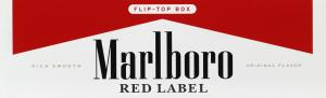 Marlboro Red Label King Box Pack Cigarettes