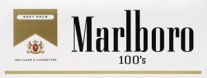 Marlboro Light Regular 100's Soft Pack Cigarettes