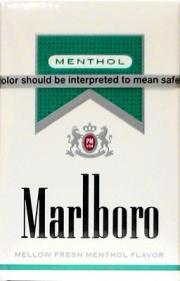 Marlboro Silver Menthol King Box Cigarettes