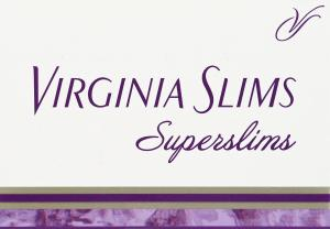 Virginia Slims Superslims Light 100's Cigarettes