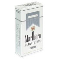 Marlboro Silver 100's Box Cigarettes