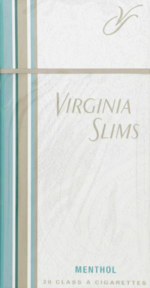 Virginia Slims Gold Menthol 100's Box Cigarettes