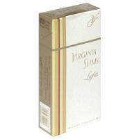 Virginia Slims Gold 100's Box Cigarettes