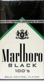 Marlboro Menthol Black Special Blend 100 Cigarettes
