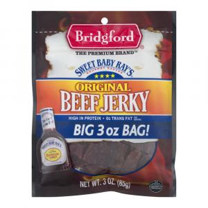 Bridgford Sweet Baby Ray's Original Jerky