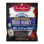 Bridgford Sweet Baby Ray's Sweet Teriyaki Beef Jerky