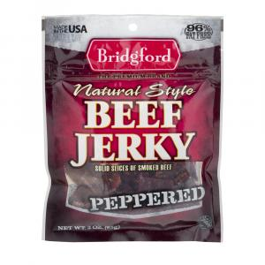 Bridgford Peppered Beef Jerky