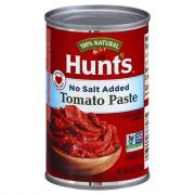 Hunt's No Salt Added Tomato Paste