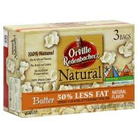 Orville Redenbacher's Natural Butter 50% Less Fat Popcorn