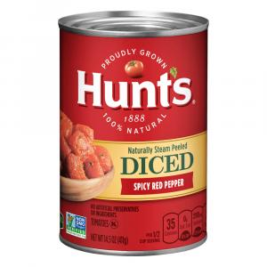 Hunt's Spicy Red Pepper Mediterranean Tomatoes
