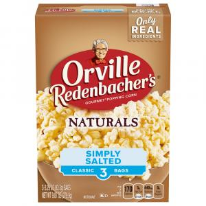 Orville Redenbacher's Natural Simply Salted Popcorn