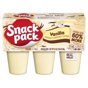 Snack Pack Super Pack Vanilla Pudding