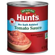 Hunt's No Salt Added Tomato Sauce