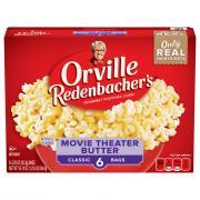 Orville Redenbacher's Classic Bag Movie Theater Butter