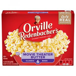 Orville Redenbacher's Classic Bag Movie Theater Butter