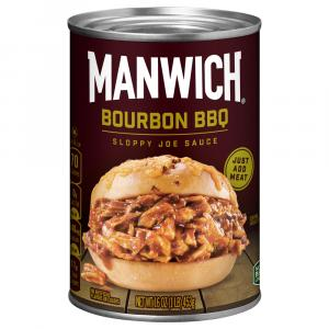Manwich Bourbon BBQ Sloppy Joe Sauce