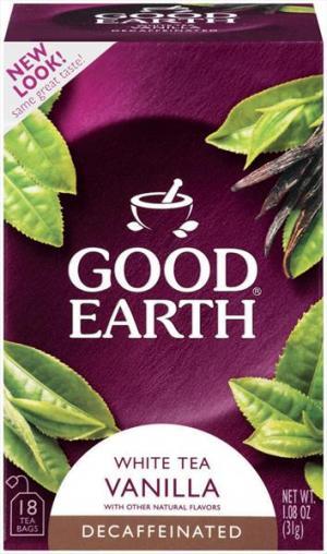 Good Earth White Decaf Tea Bags