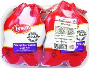 Tyson Cornish Game Hens