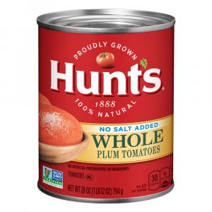 Hunt's No Salt Added Whole Tomatoes