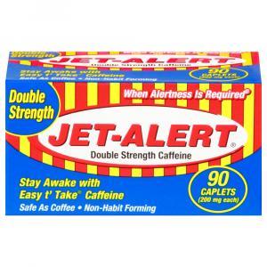 Jet Alert Double Strength Caffeine Caplets