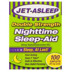 Jet-Asleep Double Strength Nighttime Sleep-Aid